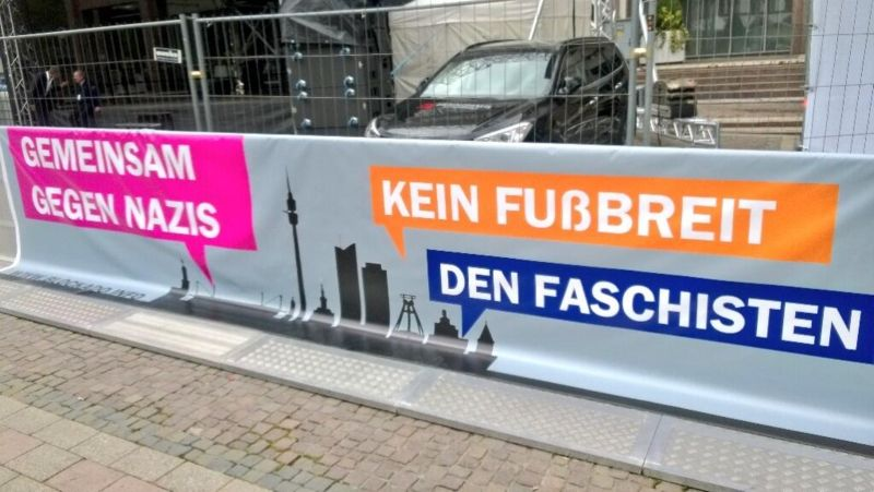 Anti-Nazi-Demo am Rathaus Dortmund