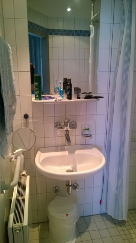 Das Bad im Krankenhaus