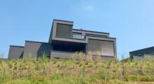 Haus am Phoenixsee - etwas gruselig, wie ich finde so ganz in schwarz