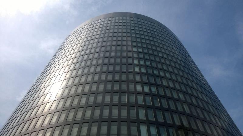 Das RWE-Gebäude in der Dortmunder Innenstadt, oder auch ein viertel Todesstern.