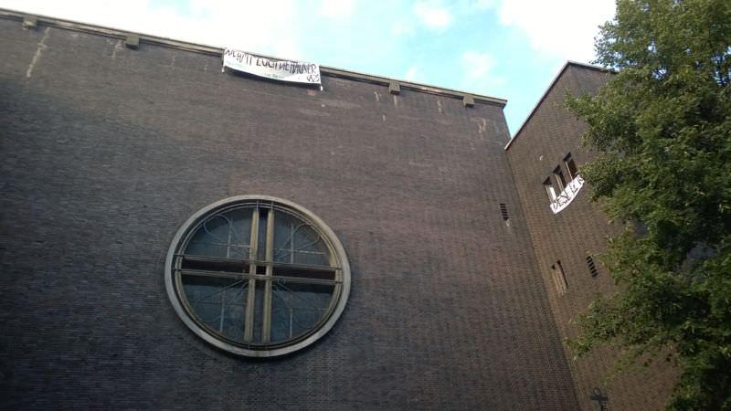 Die denkmalgeschützte Fassade