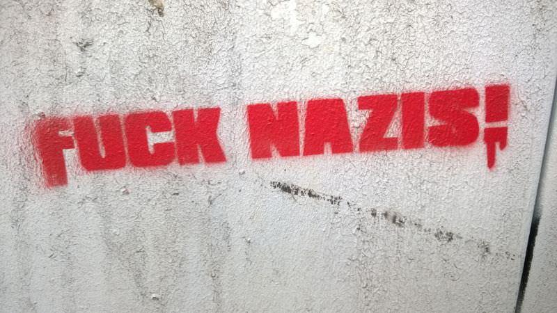 Fuck Nazis - geht immer