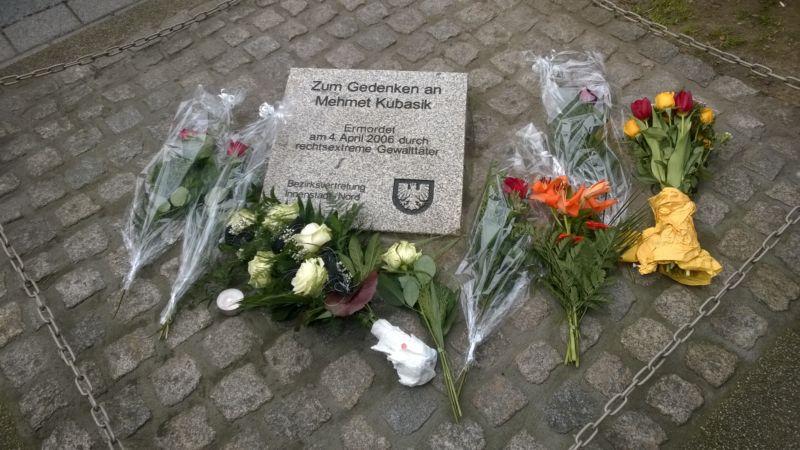 Gedenkstein Mehmet Kubasik - Opfer des NSU