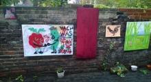 Ständige Kunstausstellung im Hof