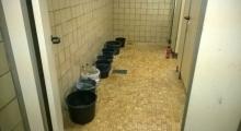 Spülwasser im Bad
