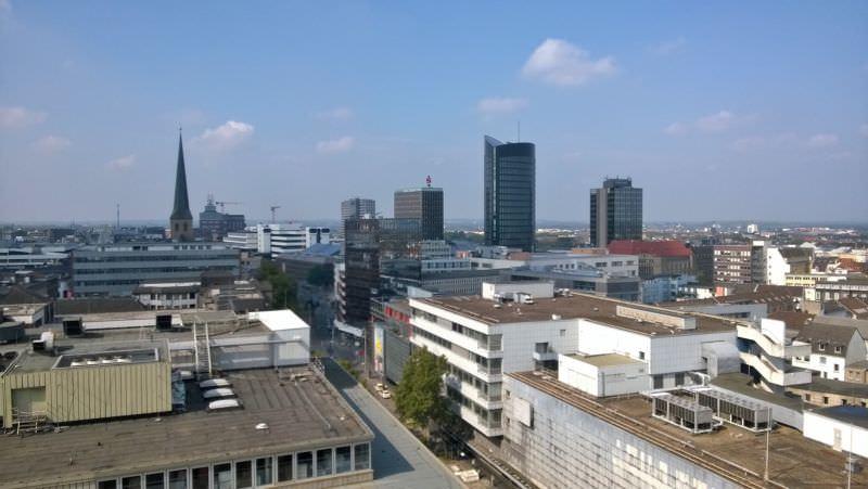 Blick über Dortmund vom Turm der Reinoldikirche