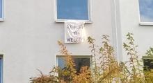 Refugees Welcome im Nachbarfenster