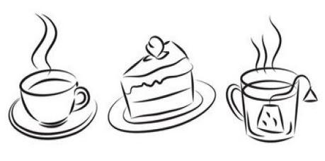Cafe Asyl Zeichnung